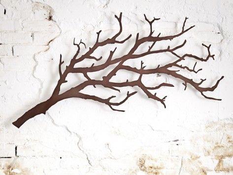 Tree branch coat rack  Home & Decor  Pinterest