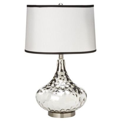Silver Table Lamps : table lamps