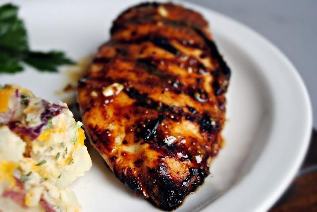 Honey Mustard Grilled Chicken Recipe — Dishmaps