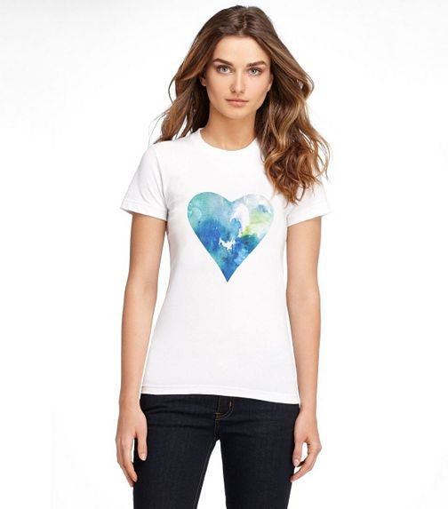 Sandy Relief Tee | Womens Shop For A Cause | ToryBurch.com Pretty & an