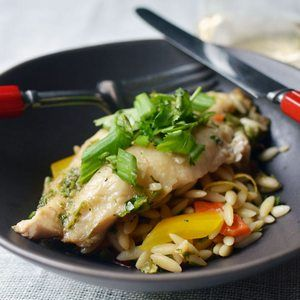 Ginger and Cilantro Baked Tilapia | Yum! | Pinterest