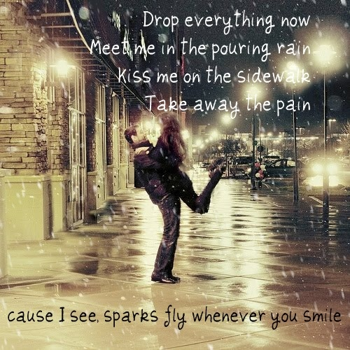 Taylor Swift Lyrics Sparks Fly Taylor Swift Sparks Fly Lyrics
