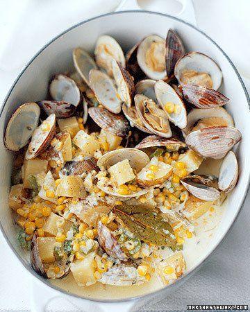 Corn and Clam Chowder Sauce Recipe