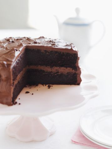 Chocolate Mayonnaise Cake where mayonnaise takes the place of eggs and ...