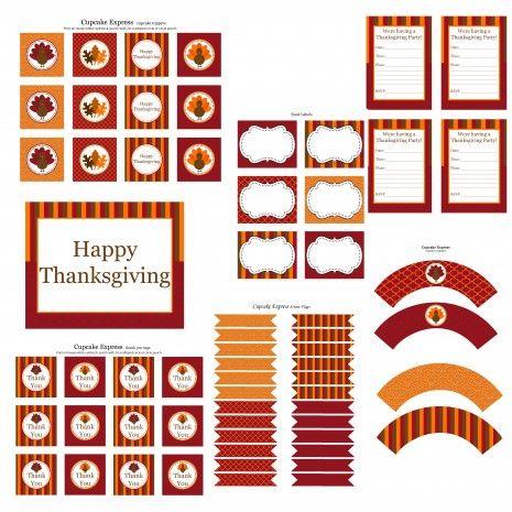 thankgiving printable