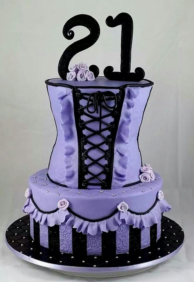 corset birthday cakes