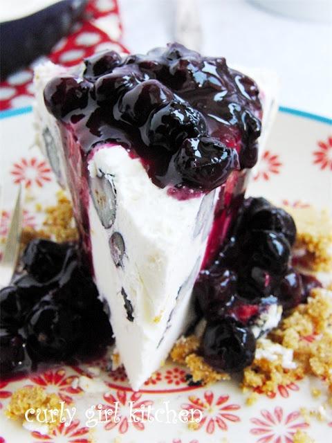 Blueberry Cheesecake Ice Cream Pie | Culinary Inspiration | Pinterest