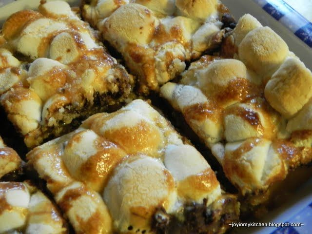 Toasted Marshmallow S'more Bars | Bars (& Squares) of Goodness ...