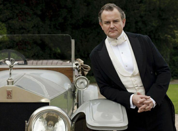 photo of Hugh Bonneville  - car