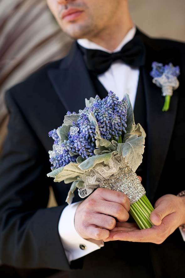 Blue muscani