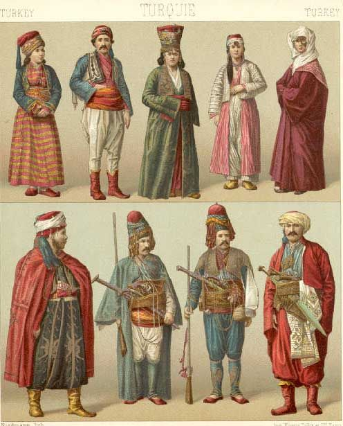 Cool  Ottoman Dress In 1718 Ottoman Empire Fashion Middle Eastern