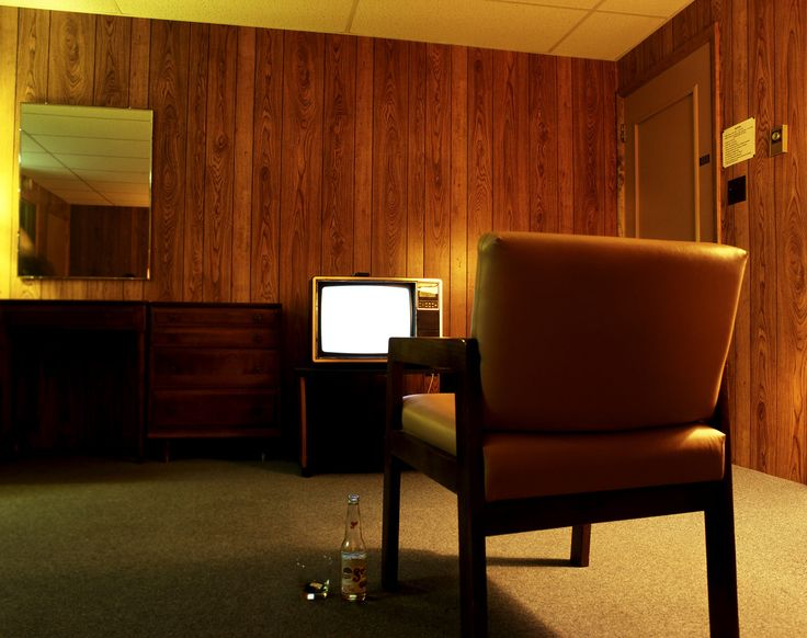 Tv movie motel room