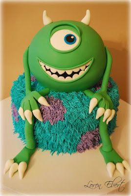 The Baking Sheet: Monsters Inc. Cake!