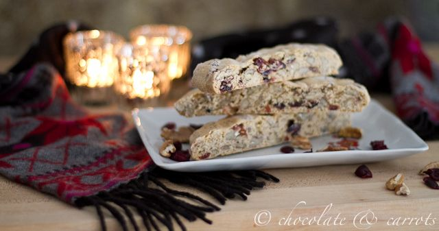 Pecan Cranberry Biscotti. | Yummy Food | Pinterest