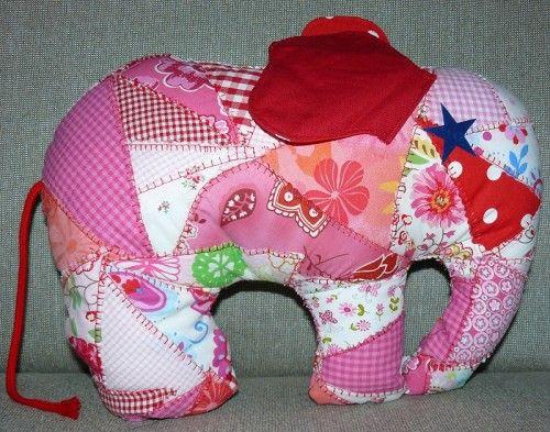 elefant kuscheltier softie selber n hen birth day. Black Bedroom Furniture Sets. Home Design Ideas