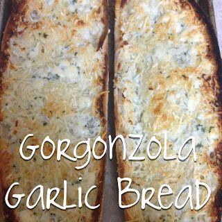 Gorgonzola Garlic Bread - table for twenties