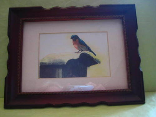 """Bluebird"" by Ethel Backenstose Print 