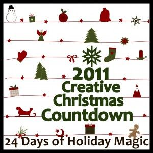 The Christmas Countdown calendar below is a clickable list of Christmas Activities- a new one added each day!