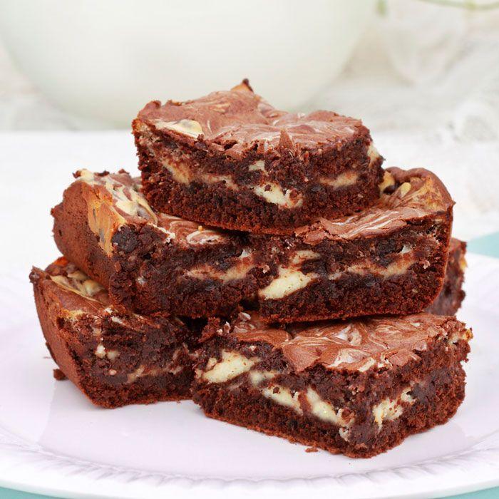 Peanut Butter Swirl Brownies. | Chocolate, chocolate, chocolate!! | P ...