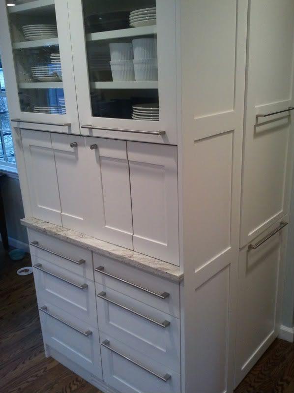 Cabinet appliance garage also kitchen cabinets appliance garage doors