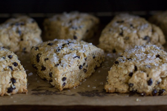 orange and oat scones. this weekend.