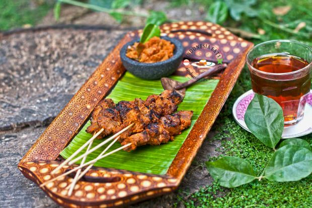 Sate Komoh Recipe (Indonesian Spiced Beef Saté – East Java Style)