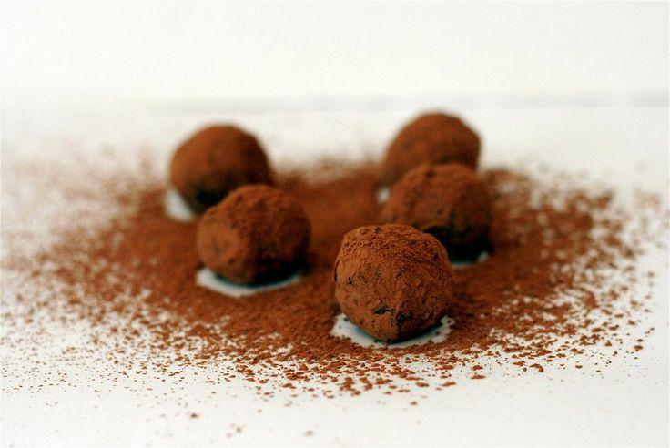 Balsamic Chocolate Truffles   Candies   Pinterest