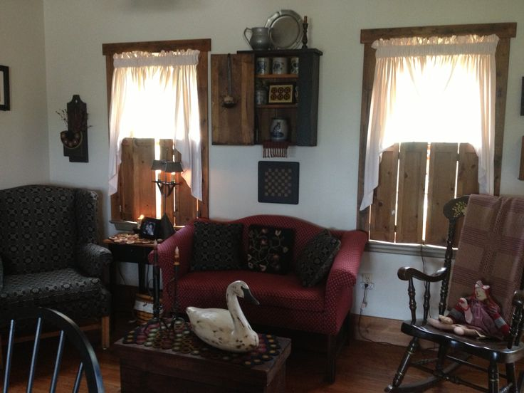 My Keeping room | Primitive colonial decor | Pinterest