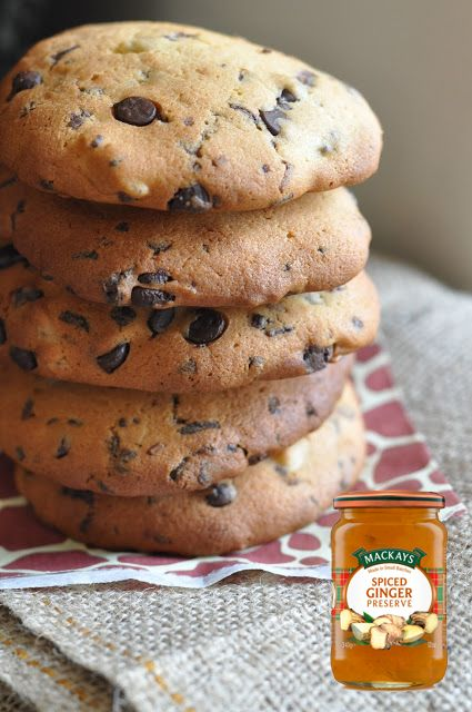 Sophie's Chocolate Chip Cookies with Ginger Preserve for # ...