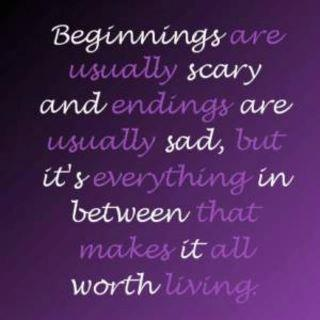 between beginnings and endings quotes inspirational