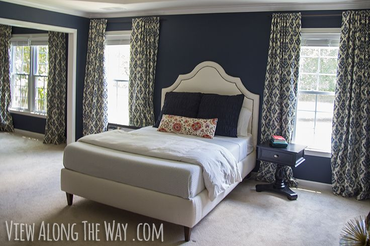 Pin by angela ruble nowicki on bedrooms pinterest for Hale navy benjamin moore