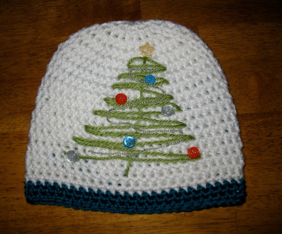 Free Crochet Christmas Tree Hat : christmas tree crochet hat crochet hats Pinterest