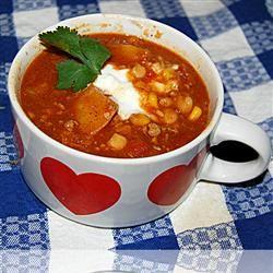 Butternut Squash and Turkey Chili Allrecipes.com - Delicious ...