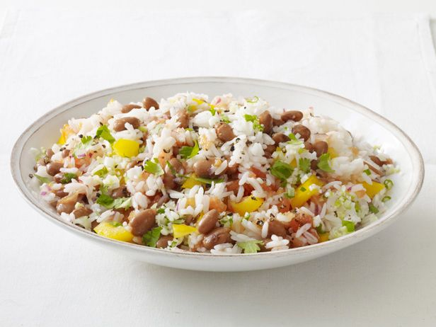 Rice and Bean Salad Recipe : Food Network Kitchen