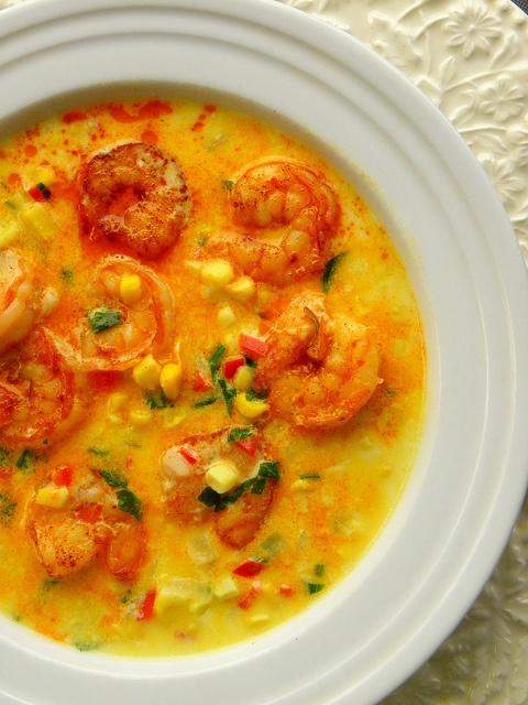 Shrimp & Corn Chowder | I Love Cooking! | Pinterest