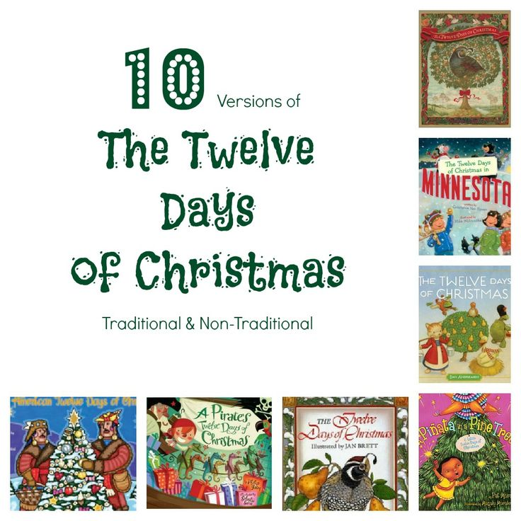 10 versions of the twelve days of christmas