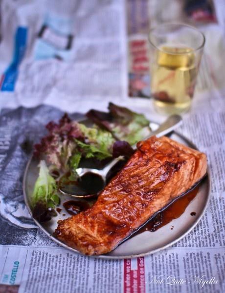 Soy Glazed Salmon @Lorraine Siew Siew Elliott