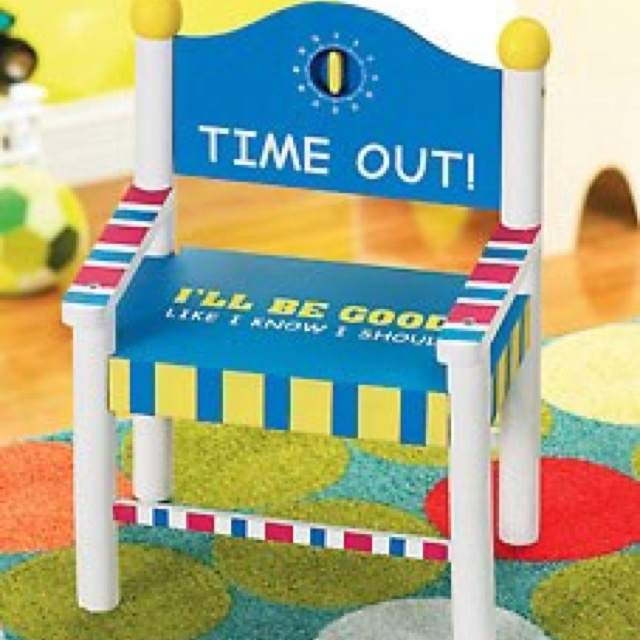 Time out chair with timer from kaboodle lilly pinterest