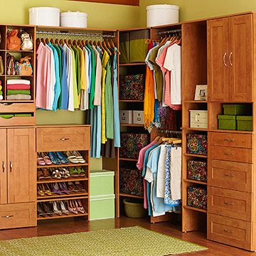 Dear Santa, I would love to have a closet that looks like this. It has places for my shoes, socks, and shirts! Be still my heart!!