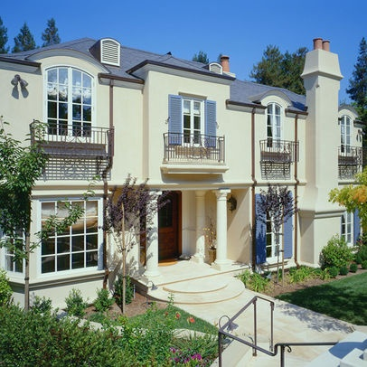 Exterior pictures of french country homes joy studio for French chateau exterior design
