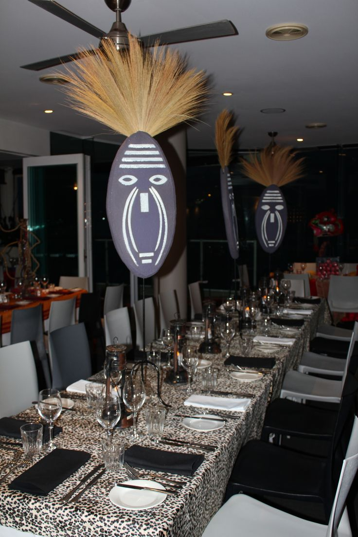 Pin by karien dreyer on african skies party pinterest for African party decoration ideas