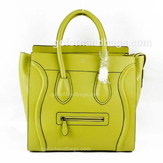 Celine Calfskin Leather Nano