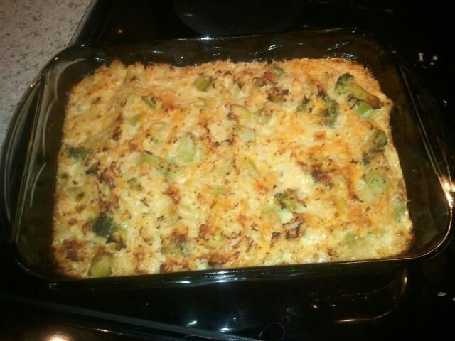 "Broccoli ""Rice"" Casserole 