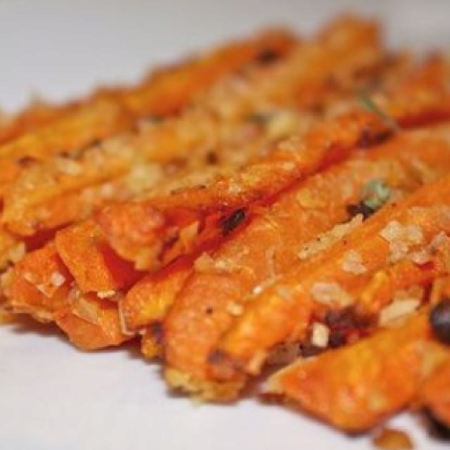 """Baked Carrot """"Fries"""" @ food52.com 