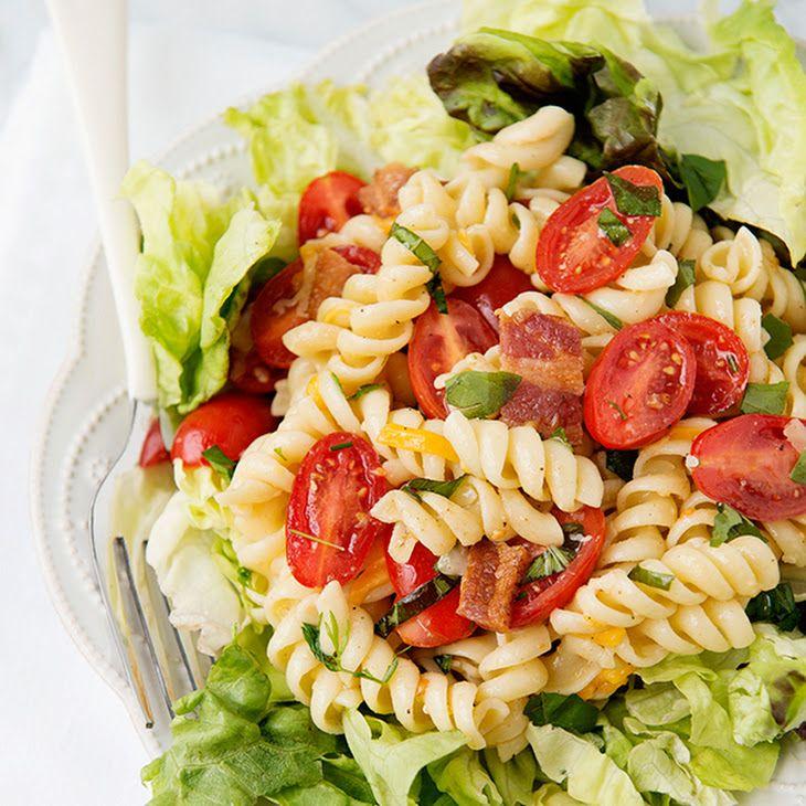 BLT Pasta Salad XV Recipe       FOOD•DRINKS•RECIPES ...