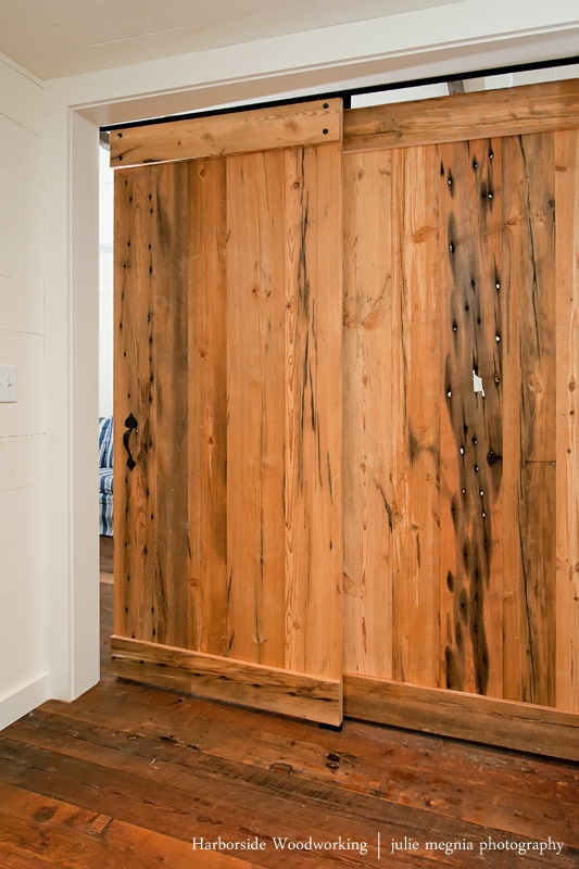Double sliding barn doors baby berg 39 s room pinterest for Double sliding doors