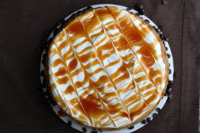 caramel cappuccino cheesecake | For The Love Of Cheesecake
