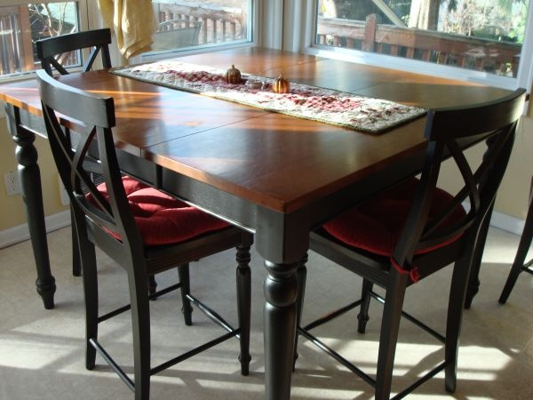 tall kitchen table with 6 chairs for the home pinterest