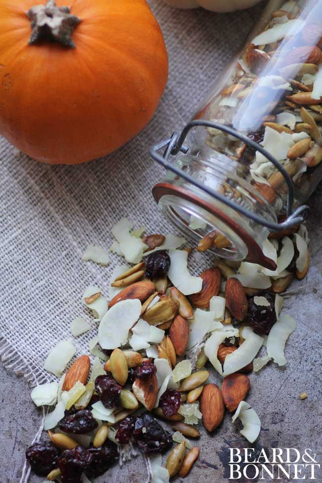 Pumpkin Seed Trail Mix (Gluten Free and Vegan) another idea for GF ...