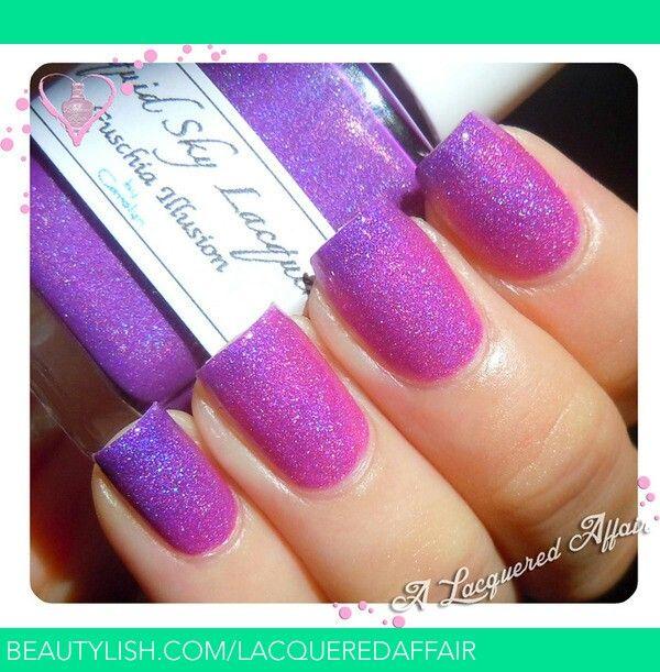 Pink Purple Nail Polish: Pink And Purple Nail Polish